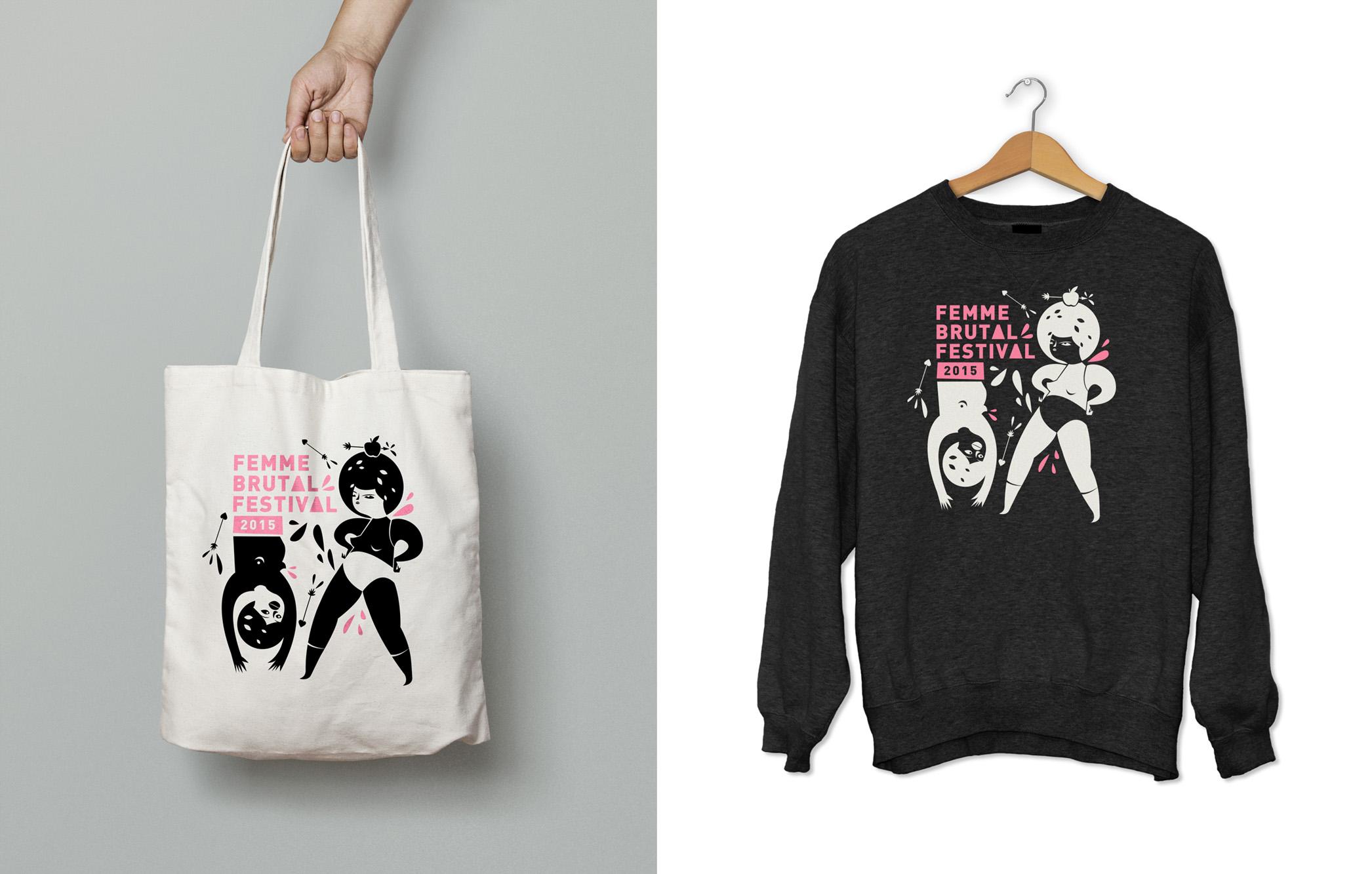 totebag_femmebrutal+Shirt